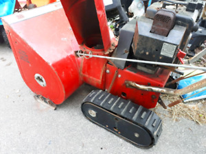 Project snow blower