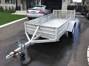 Remorque utilitaire en aluminium 5 X 9