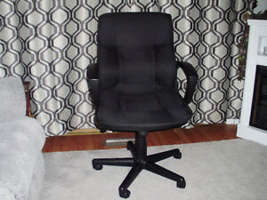 Office Chair (fabric) for Sale Cambridge Kitchener Area image 2