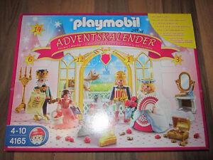 Playmobil #4165 Princess Advent Calendar New Sealed 2011 Retired