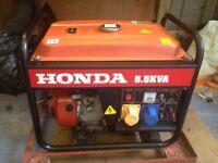 Honda 5.5 kva petrol generator