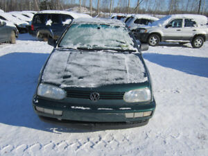 1997 Volkswagen Golf GTI ** FOR PARTS ** INSIDE & OUTSIDE **