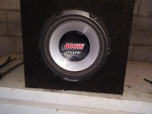 400 watt pioneer sub