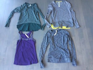 Lululemon size 6 - $40 each 5 different tops