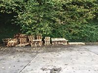 Bonfire wood available to pick up free of charge.