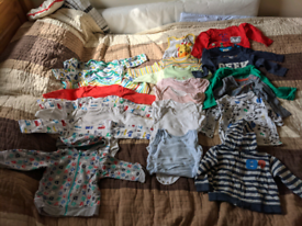Bundle of baby boy clothes 6-9m