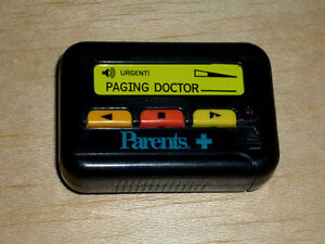Toy Pager by Parents+ ... Paging Doctor ... toy pager ..