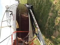 Remorque 2013 double essieux capacité de 7600lbs