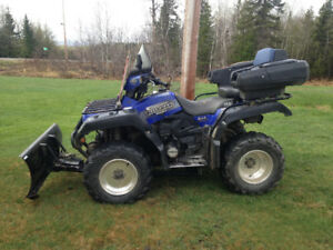 Yamaha Grizzly 600, 2001