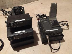 Système de radio FM Motorola pour usage commercial