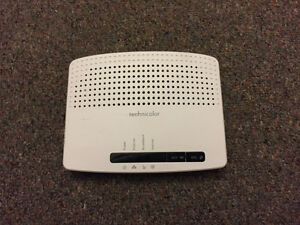 Technolor modem router