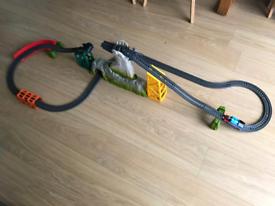 Thomas trackmaster 2 sets plus box of trains