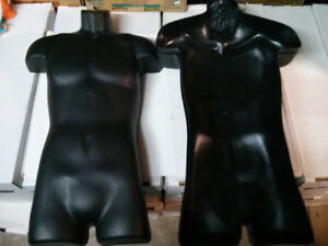 Hanging display mannequin shell3 available$10 each