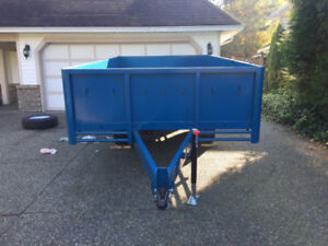 """NEW just finishing 7' x 13"""" trailer with 24"""" sides"""