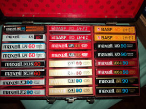299 Blank Audio Cassette Tape Collection