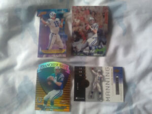 Variety of Peyton Manning insert cards for sale ...