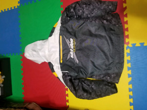 Womens ski-doo suite. Boots coat and pants