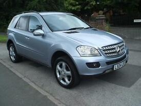 MERCEDES-BENZ ML320 3.0TD CDI 7 G-TRONIC SPORT GREAT VALUE READY TO DRIVE AWAY