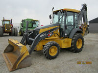 2011 Deere 410J Loader Backhoe w/ Pilot Controls! $69,900.00