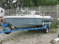 Possibility parts boat and motor plus great trailer