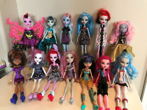 Monster High Collection (Dolls, Furniture, Vehicles)