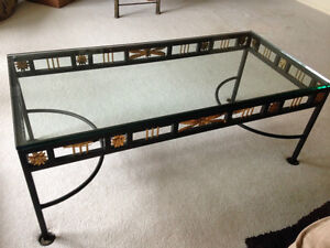Very Unique Steel Coffee Table. MUST SEE! MOTIVATED SELLER!