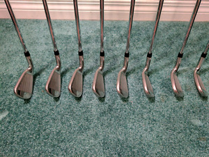 Callaway Golf - XR 4-PW, AW Stiff Steel Shafts iron set