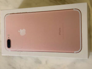 FACTORY UNLOCKED BRAND NEW APPLE IPHONE 7 Plus 32GB Rose Gold ★