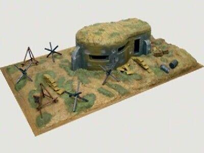 Diorama Bunker et accessoires WWII Italeri 6070