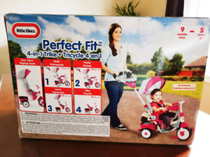 Brand New, Little Tikes Perfect Fit 4-in-1 Trike, Pink