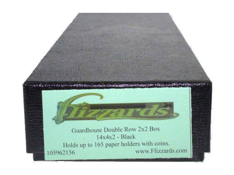 Guardhouse Double Row 2x2 Black Box - 14 x 4 x 2