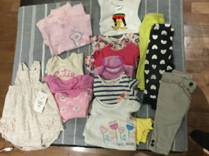 Baby girl clothes 0-6months