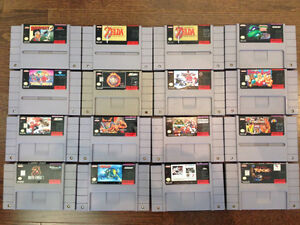 Super Nintendo (SNES) Game - Prices Listed