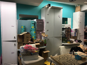 Excellent condition, Tall Cabinets- Store Fixtures