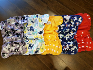 One-size Applecheeks diaper covers