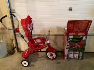 Mint condition push tricycle