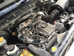 Nissan Navara ZD30 3L turbo diesel engine complete 157km + wreck Adelaide CBD Adelaide City Preview