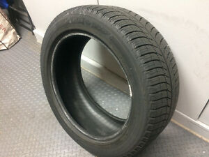 4 SNOW TIRES - MICHELIN X-ICE Xi3 - 245/45/18 North Shore Greater Vancouver Area image 1