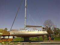 Cradle for Sailboat / Ber pour voilier