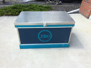 Tack Trunk with heavy-duty vinyl cover