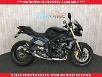 TRIUMPH STREET TRIPLE 675 LOW MILEAGE EXAMPLE ONE OWNER 2013 13 PLATE