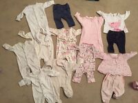 Baby Clothes 0-3 x 13 items