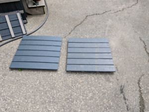 Patio deck tile slate