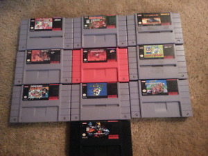 Super Nintendo games