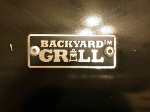 Brand New Backyard Grill Barbeque with Full Propane Tank