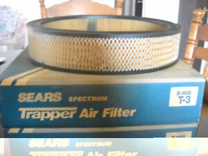 "2-Brand new air filters 11 3/8"" O.D. by 2 3/8' high"