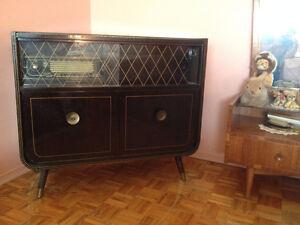 Meuble Stereo / Bar  ** Telefunken Vintage ** Stereo  / Bar