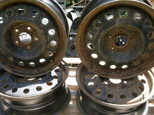 "16"" Steel Wheels Santa Fe and Other"