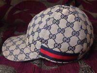Navy Gucci Cap