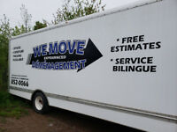 **FREE ESTIMATES** WE MOVE EXPERIENCED!